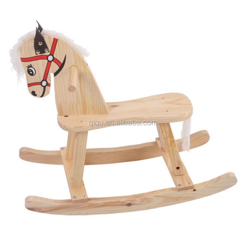 Nuevo producto caliente 2014 dise o ni os silla mecedora - Caballito de madera ikea ...