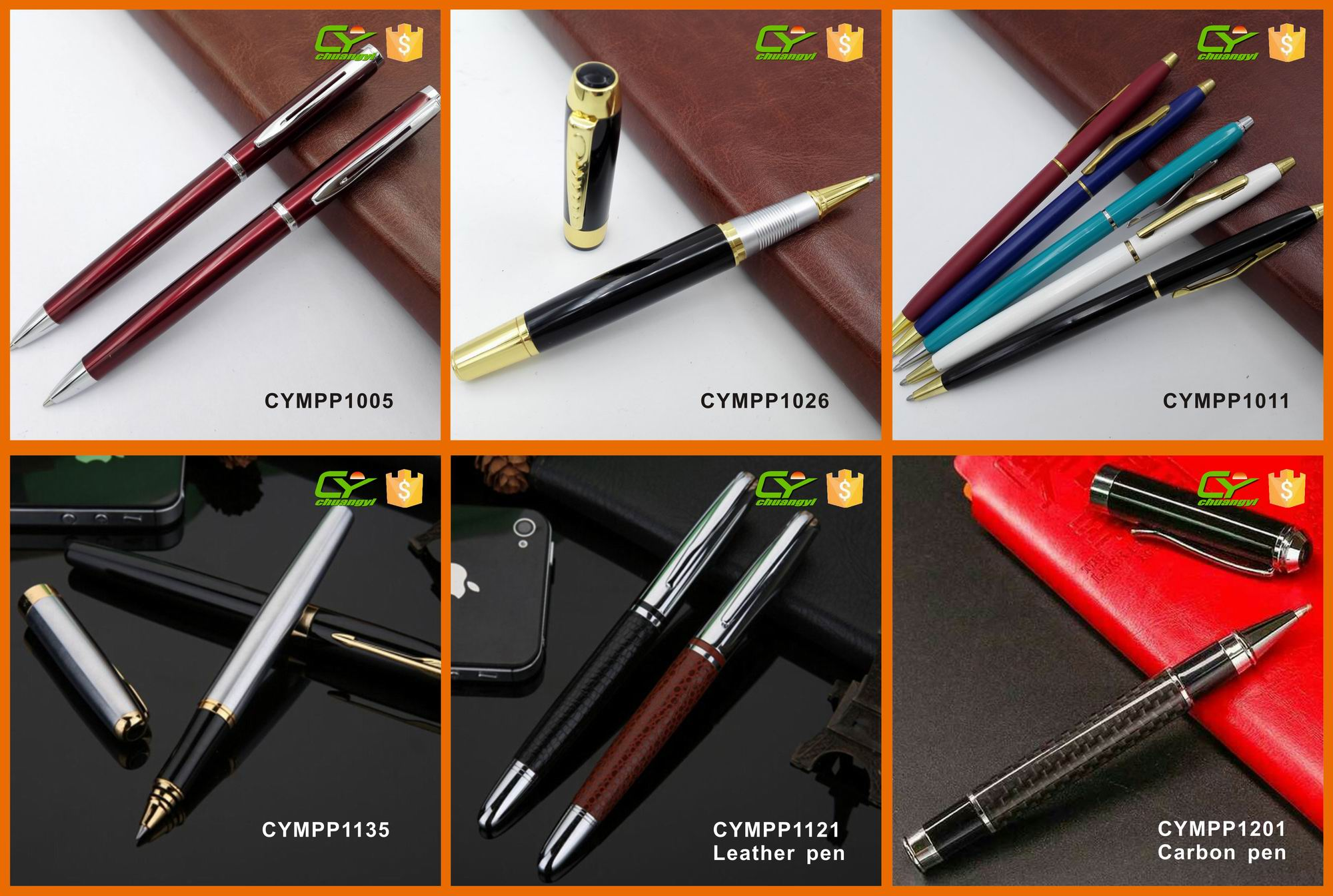 Advertising Custom 3D Liquid Floating Ballpoint Pen Customised Floating Pen