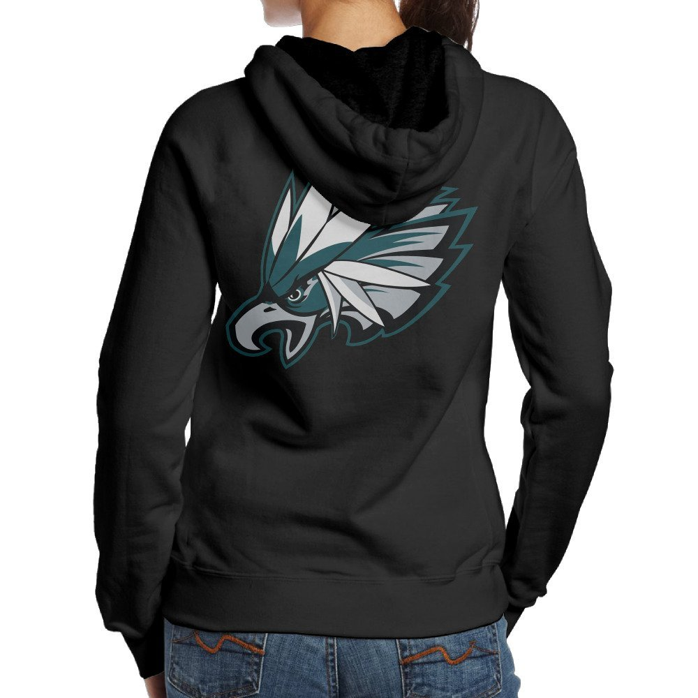 4d228fbd3 Get Quotations · MCDB Women's Philadelphia Braviaries Eagles Outdoor Hoodies  Black