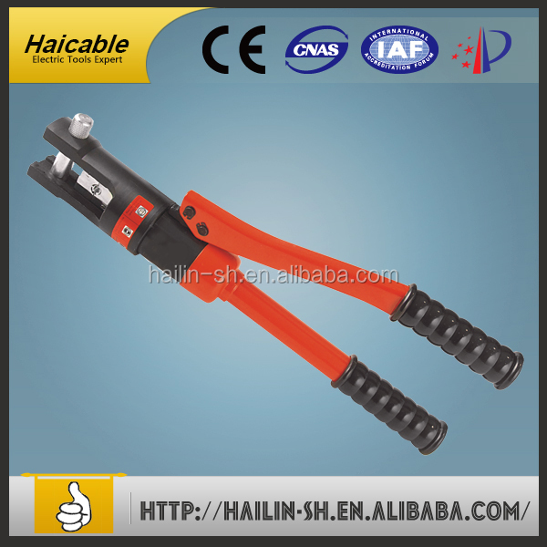 YQk-120 Portable Hydraulic Crimping Tool / Yqk series hydraulic-crimping-tool-pliers-and-crimper / Hydraulic Crimping Pliers