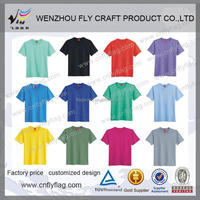 cheapest 100% cotton T shirts from WENZHOU FLY