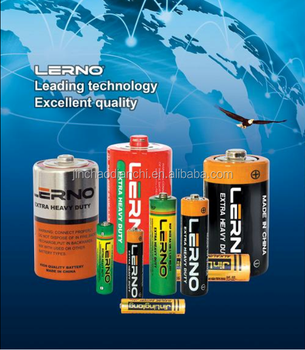 R20 Pvc China R20 Size D Dry Cell Torch Battery