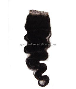 Wholesale Brazilian Hair 100% Human Hair Top Lace Closure Silk Base Free Part Body Wave Lace Closure