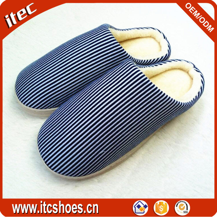 China manufacturer warm autumn winter indoor couples <strong>slippers</strong>