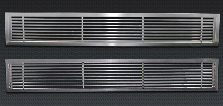 Hvac System Linear Bar Stainless Steel Ventilation Grilles