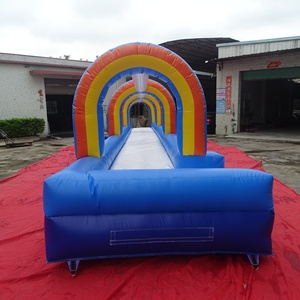 Children love inflatable foam pool lane,inflatable water slip n slide lagoons,inflatable cannon pit