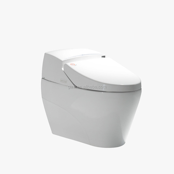 Seat automatic water-saving smart toliet
