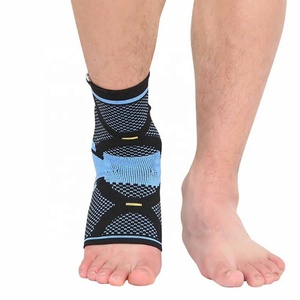 Compression Silica Gel Pad Ankle Support Wrap