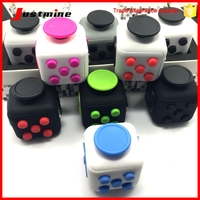 2017 New Fidget Cube With Origina Box Toy Magic Cubes Squeeze Fun ...