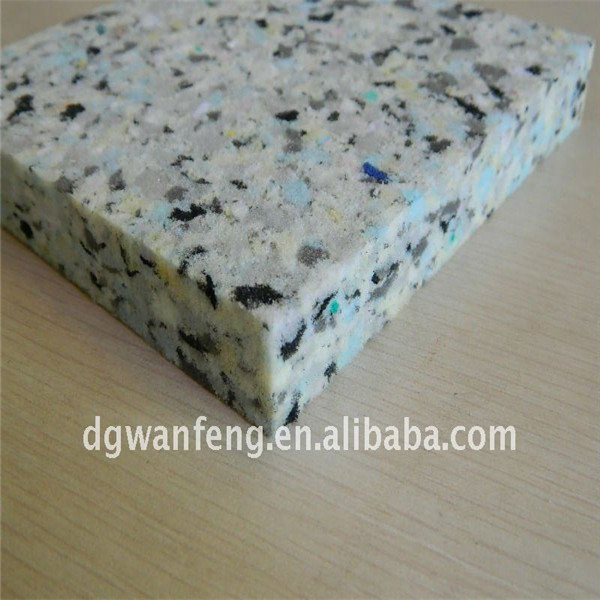 cheap recycled PU sponge foam underlay and rugs