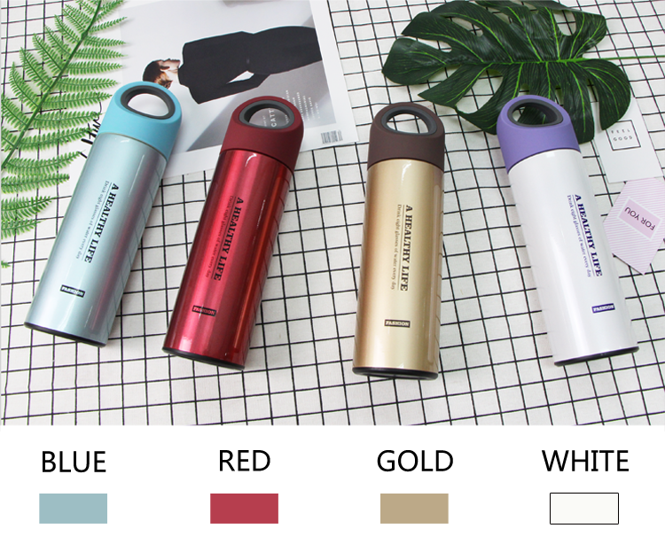 The Hafei Custom Style Insulated Stainless Steel Water Bottle with Lid