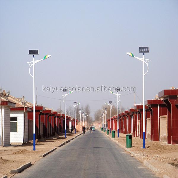 Hot sale new configuration 18W LED solar street light supplier