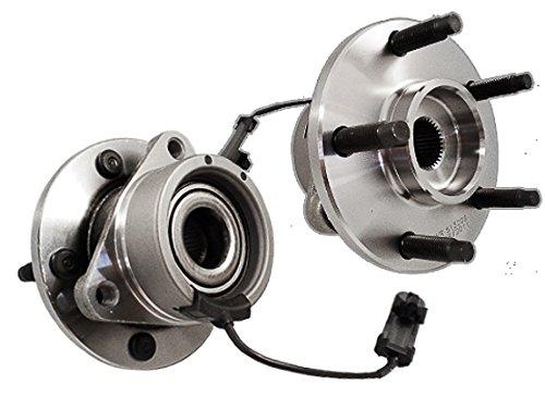 Callahan C513206X2 [2] Pair FRONT Premium Grade [ 5 Lug ABS ] Wheel Hub Bearing Assemblies [ 513206 ]