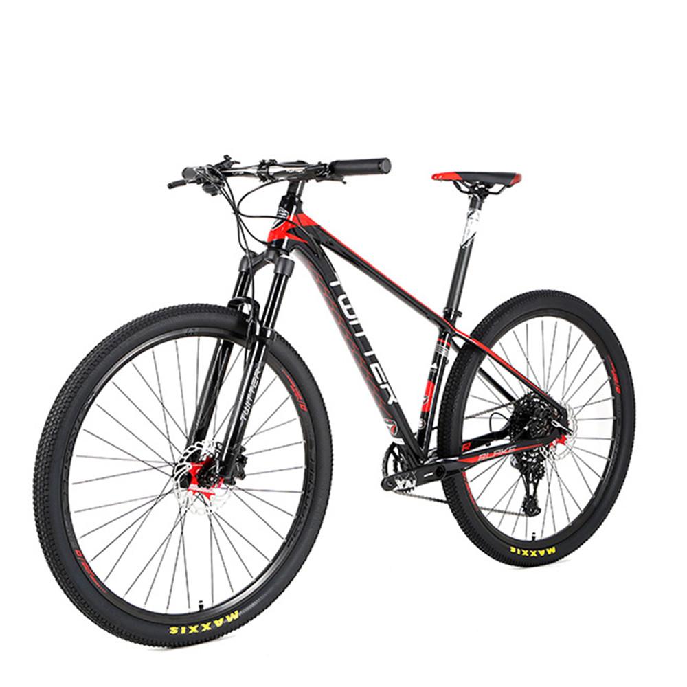27.5 Aluminum alloy NX-12 speed mtb bicycle mountain bike with hydraulic brake, Claret / blue / black / blackred / blackyellow