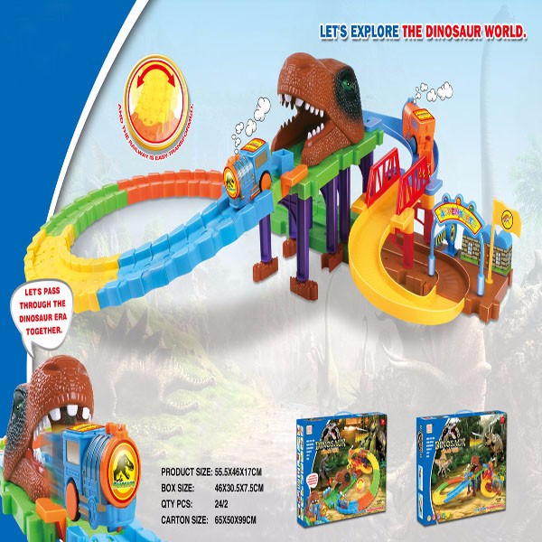 Puzzle Game Electric Train Track Dinosaur Building Block 3d Magnetic  Intelligence Building Blocks For Kids - Buy Kids 3d Building Blocks,Toys  Plastic