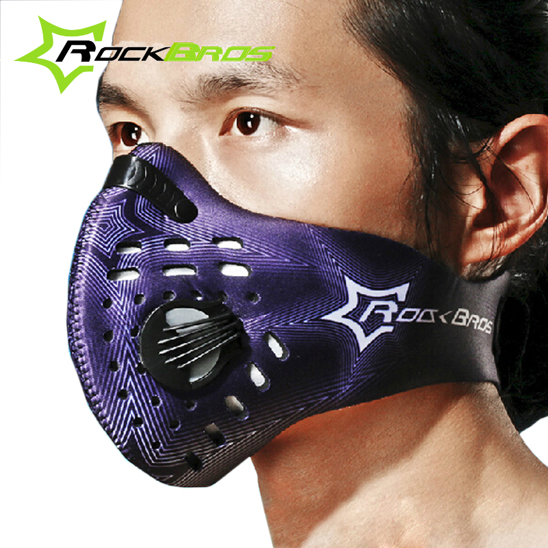 hot rockbros cycling face mask outdoor sports windproof mtb road motorcycle bike mask anti. Black Bedroom Furniture Sets. Home Design Ideas