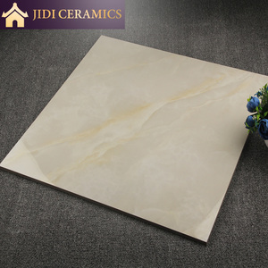 Style selections 60x60 Glazed Porcelain Marble Look Ceramic Floor Tiles