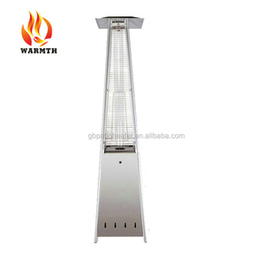 Ceiling Hanging CE Approved Stainless Steel Pyramid Flame Propane Gas Patio Heater with CE