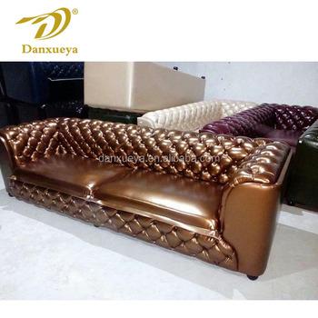royal luxury furniture Italian design sofa factory direct tufted leather  sofa, View luxury furniture, Danxueya Product Details from Foshan Danxueya  ...