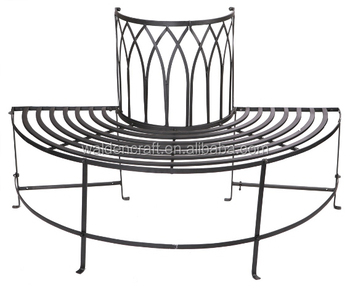 Groovy Half Circle Metal Garden Tree Bench Buy Tree Bench Garden Bench Metal Bench Product On Alibaba Com Squirreltailoven Fun Painted Chair Ideas Images Squirreltailovenorg