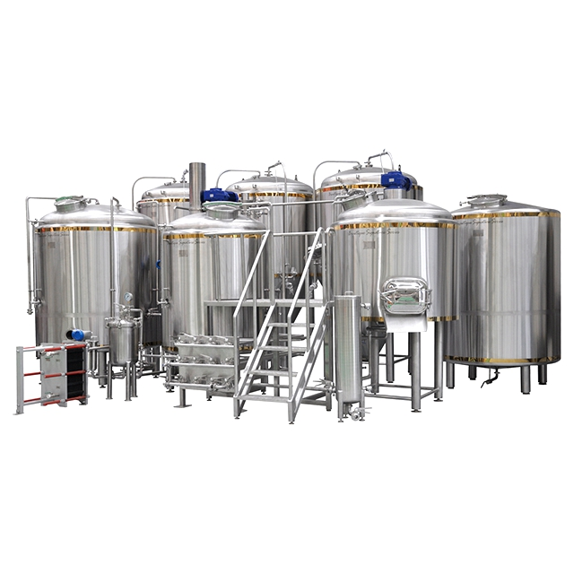 5000l Commercial Grain Mill Brewery Equipment Beer Brewing Grains Machine -  Buy Brewery Equipment,Beer Brewing Grains,Beer Brewing Machine Product on