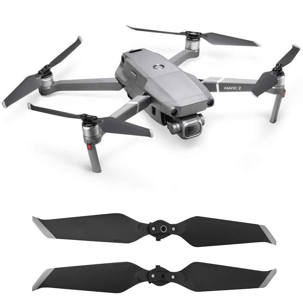 Gbell 1 Pair 8743F Low-Noise Propellers Blades for DJI Mavic 2 Pro & Zoom, Drone Accessories,Quick-Release