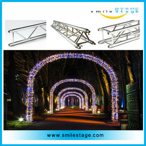 concert scaffolding truss system stage flat roof truss system