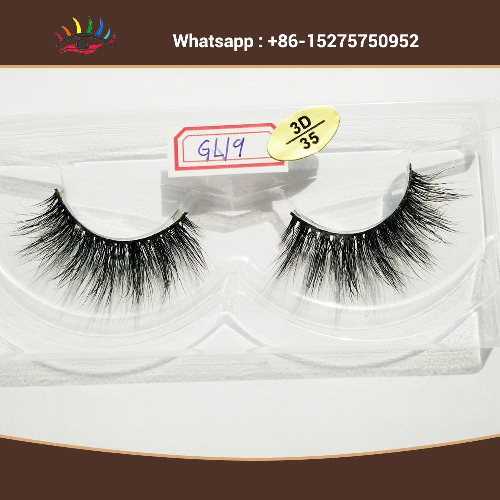 Long Super Thick Full 3d Mink Fur Lashes False Strip Eyelashes
