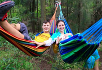 Outdoor Portable Camping Double Cotton Hammock best selling hammock with steel stand