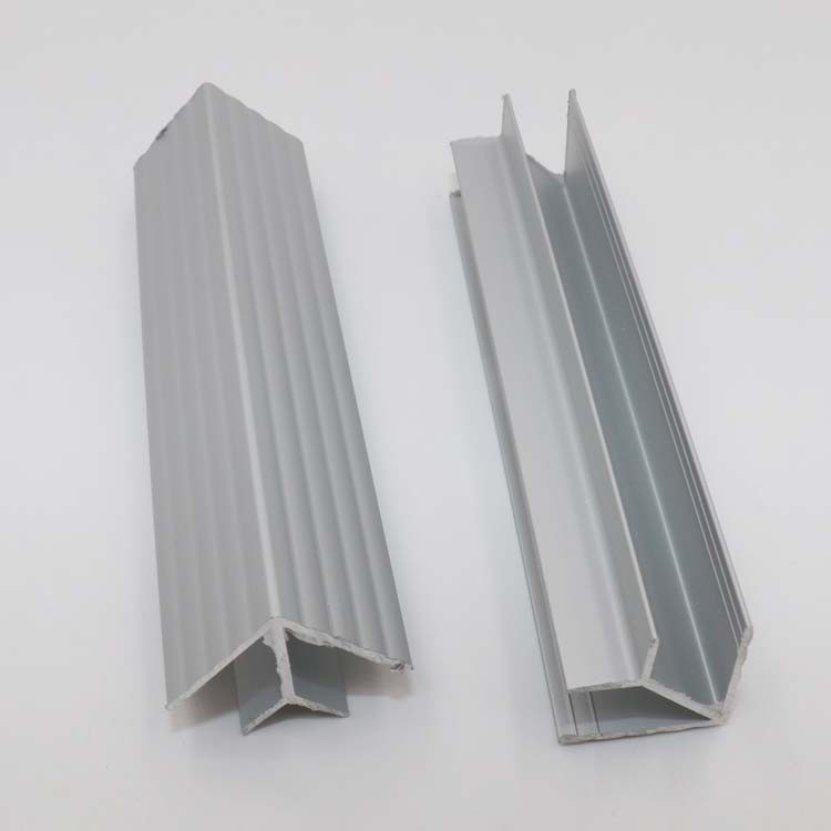 100 Mm Aluminum Extruded Profile Corner Joint For Kitchen ...