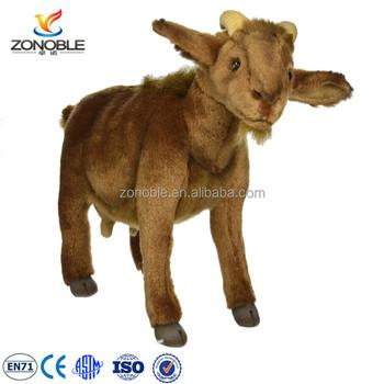 2016 Factory Price Soft Cute Baby Toys Grey Plush Animal Stuffed