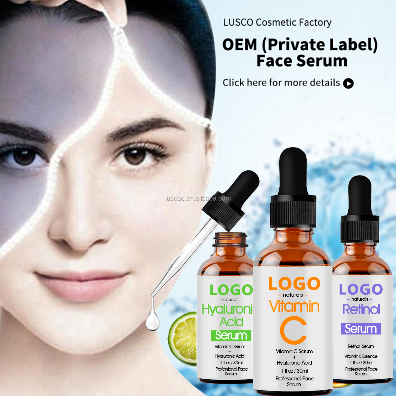 सबसे अच्छा सौंदर्य प्रसाधन उत्पादों सीरम किट तत्काल हटाने शिकन पोषण तरल चेहरा विटामिन सी सीरम