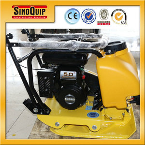 Model SC77W 5HP Gasoline Engine Powered Manual Start Small Plate Compactor