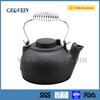 Factory direct cast iron enamel tea kettle with handle