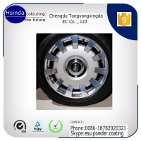 car wheel manufacture high gloss powder coating wholesale
