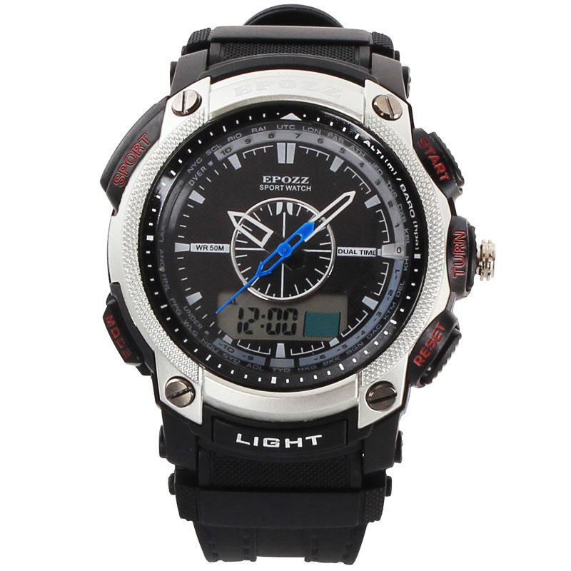 d3f25eb4dbe Frete grátis moda relógio masculino relógio do esporte analógico e digital  à prova d água