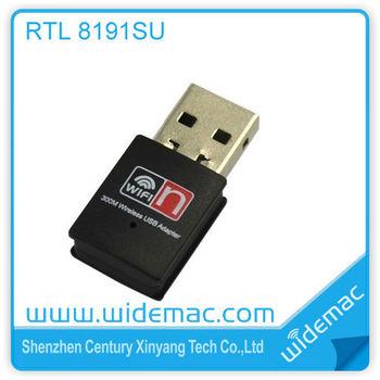 300mbps Realtek Rtl8191su Chipset 2t2r Mini Wifi Usb Adapter/ Wireless Lan  Card/ Wifi Usb Dongle (sl-1506n) - Buy Realtek 8191 Chipset,Realtek 8191