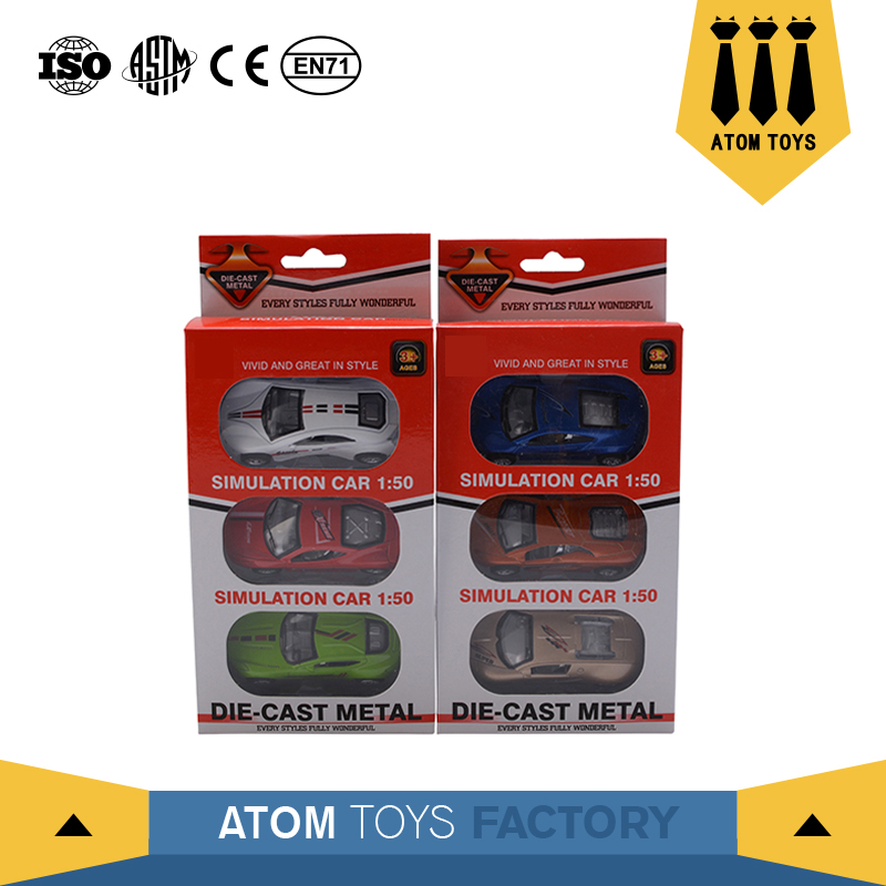 new toy wholesale safety materials zinc alloy models car diecast for children