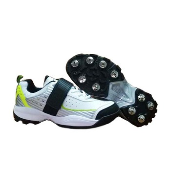 Custom cheap professional sports spike rubber cricket shoes for men
