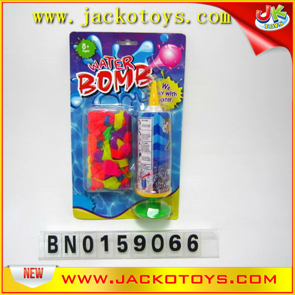 Water balloon with pumper ,festival decoration toys wholesale