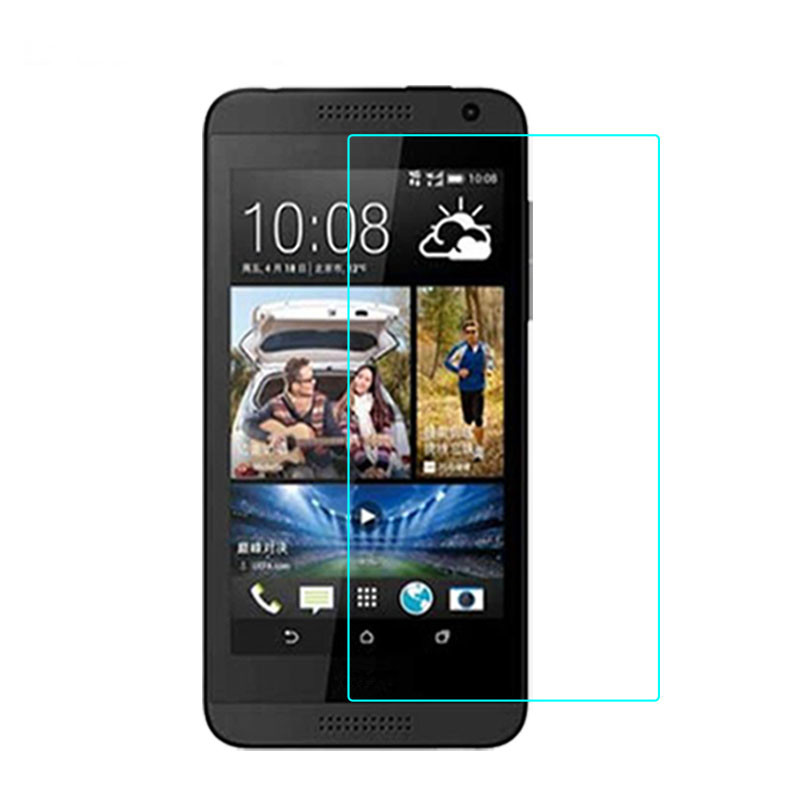0 3mm Tempered Glass for HTC Desire 610 9H Hard 2 5D Arc Edge High Transparent