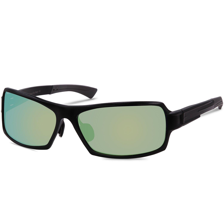 96bac67c06 Duco Men s Sports Polarized Sunglasses Driver Glasses Unbreakable Frame UV  Protection 9019