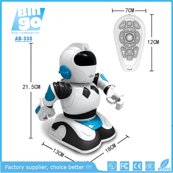 Bingo 338 Smart Mini Roboactor Remote Control Electric Dancing Walking Robot Toy