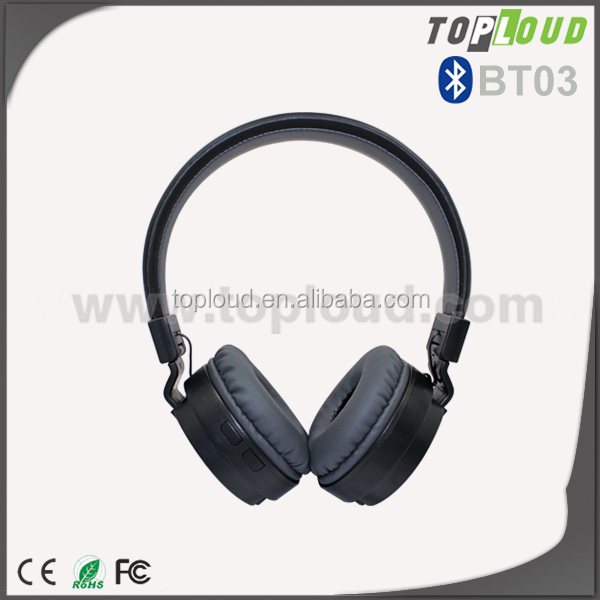 Wireless Bluetooth 4.0 headphones with CSR solution and fashionable design