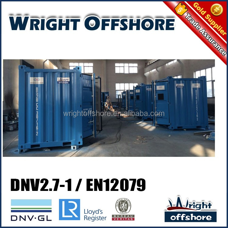 DNV equipment 6' Offshore Mini container, DNV2.7-1/En12079, DNV-GL,LR, CSC