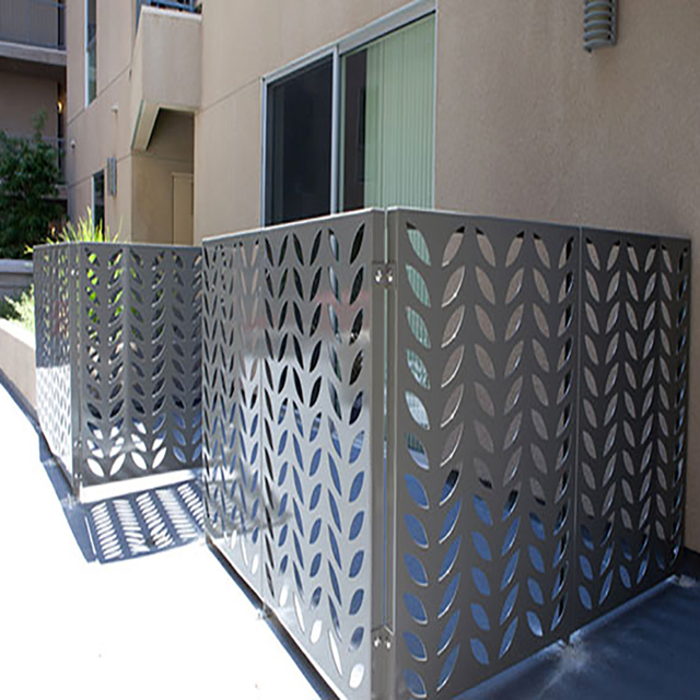 solid metal fence. Decorative Solid Metal Fence Panel