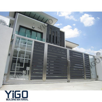 Automatic House Main Gate Designs / Steel Gate Design Home