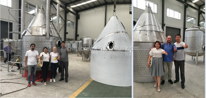 500L copper kettle used brewing beer