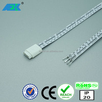 Dimmable LED Under Cabinet Lighting Kit, 12V12W / Controllable RGB 4 pin female socket connector