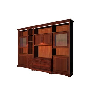 home furniture wall wood bar wine whisky liquor display cabinet